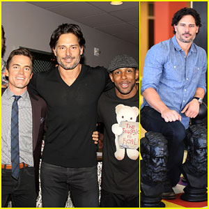 Matt Bomer Gets Support from 'Magic Mike' Co-Star Joe Manganiello at Savannah Film Festival