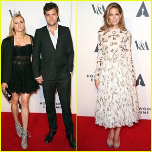 Joshua Jackson & Diane Kruger Heat Up the Hollywood Costume Opening Party!