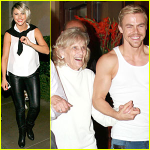 Julianne & Derek Hough Celebrate Grandmother's Birthday After 'Dancing With the Stars' Taping