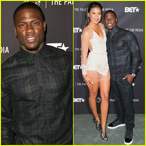 Kevin Hart Brings Fiancee Eniko Parrish Along for 'Real Husbands of Hollywood' Paley Panel!