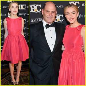Kiernan Shipka Is Pretty in Pink at Broadcasting & Cable Hall Of Fame Awards 2014