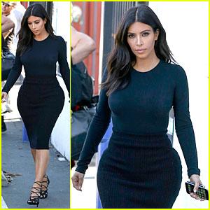 Kim Kardashian Gets Back to Work After Birthday Surprise From Husband Kanye West