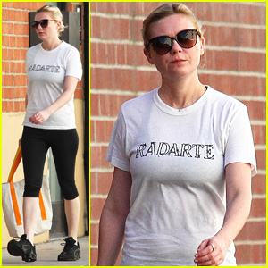 Kirsten Dunst is All About Rodarte on Her Way to the Gym