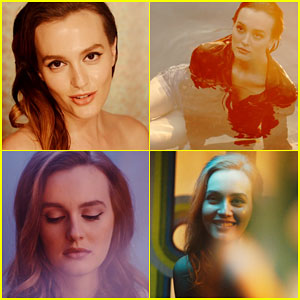 Leighton Meester Shows Lots of Emotion in 'Heartstrings' Music Video - Watch Now!