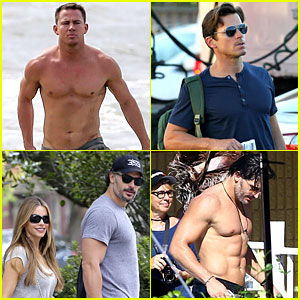 'Magic Mike XXL' Starts Filming - All the Hot Cast Phot