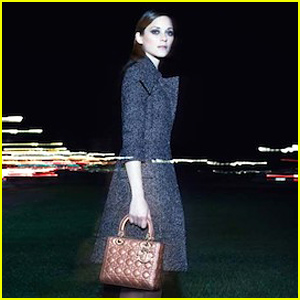Marion Cotillard Roams the Paris Streets at Night for Latest 'Dior' Campaign