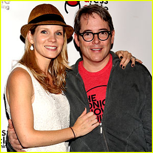 Matthew Broderick Reunites with Broadway's Kelli O'Hara at Seth Rudetsky's Book Launch