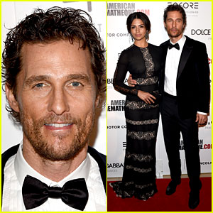 Matthew McConaughey Has Wife Camila Alves By His Side at American Cinematheque Award Event!