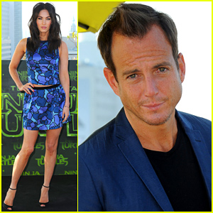 Megan Fox & Will Arnett Bring 'Teenage Mutant Ninja Turtles' to Berlin