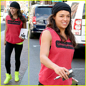 Michelle Rodriguez is Completely Unstoppable in Beverly Hills