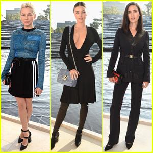 Michelle Williams & Miranda Kerr are Lovely Louis Vuitton Ladies