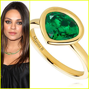 Mila Kunis Designs a Ring to Celebrate Baby Daughter Wyatt!