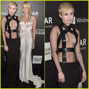 Miley Cyrus is Fierce & Sexy at amfAR LA Inspiration Gala
