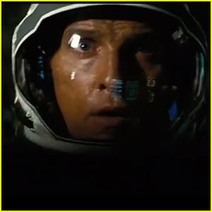 Matthew McConaughey Gets Caught in an Extraterrestrial Tsunami in 'Interstellar' Trailer - Watch Now!