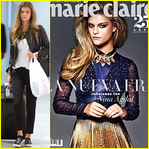 Nina Agdal Stuns on the Cover of 'Marie Claire Latinoamérica'