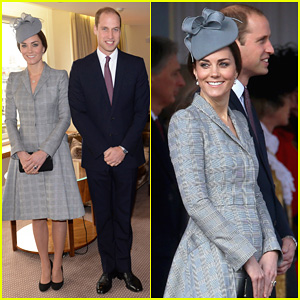 Pregnant Kate Middleton Makes 1st Appearance Since Suffering From Hyperemesis Gravidarum - See the Pics!