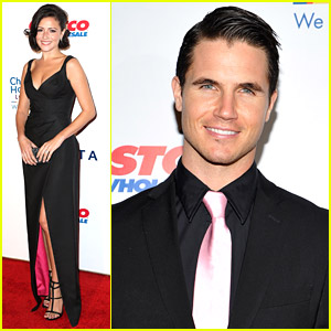 Robbie Amell & Italia Ricci Give Back at Children's Hospital LA Gala