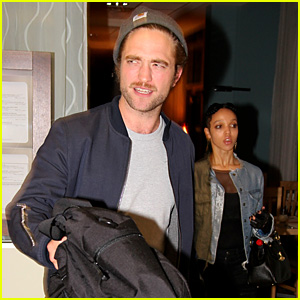 Robert Pattinson Follows Girlfriend FKA twigs' Tour to Ger