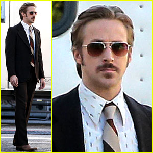 Ryan Gosling Spotted for First Tim
