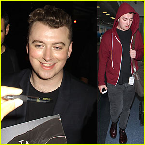 Sam Smith Is Glowing After Greek Theater Sold-Out Concert