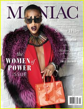 Samira Wiley Talks 'Orange is the New Black' & Her New Found Fame to 'Maniac Magazine'