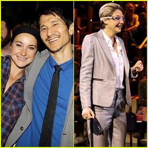 Shailene Woodley Teaches Jimmy Fallon Dance Moves, Explodes a Pumpkin on 'Tonight Show'! (Video)