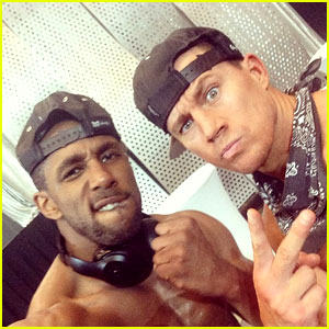 Stephen 'tWitch' Boss Shares Photos from 'Magic Mike XXL' Set!