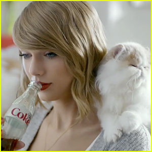 Taylor Swift's Diet Coke Commercial Features New '1989' Song & Cute Cats - Watch Now!