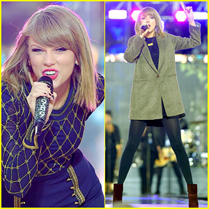 Taylor Swift Teases Upcoming Tour & Performs on 'GMA' - Watch No