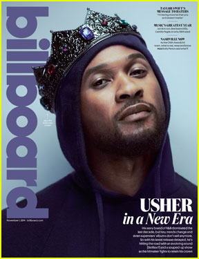 Usher Opens Up on Justin Bieber in 'Billboard'