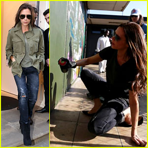 Victoria Beckham Advocates for Education & Art in Africa