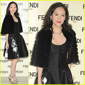 Ziyi Zhang Brings Classy Appeal to Fendi Event