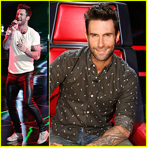 Adam Levine Kicks Off First 'Voice' Live Show With 'Animals' Performance - Watch Now!