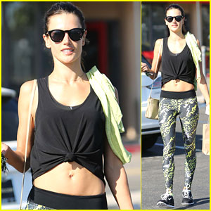 Alessandra Ambrosio Made Sure to Get to Her Thanksgiving Detox Quickly