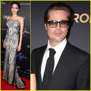 Angelina Jolie Gets Support from Hubby Brad Pitt at Australia 'Unbroken' World Premiere!