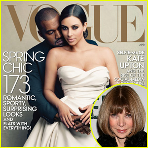 Anna Wintour on Kim Kardashian & Kanye West's 'Vogue' Cover: It's Boring to Put Only Tasteful People on the Cover