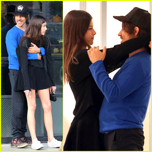 Anthony Kiedis Shows Tons of PDA with 20-Year-Old Gir