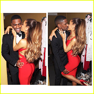 Ariana Grande & Big Sean Look So In Love & Aren't Hiding It