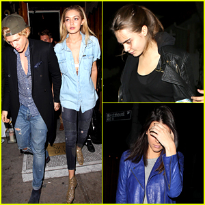 Cara Delevingne, Gigi Hadid, & Kendall Jenner Enjoy a Night Out Together!