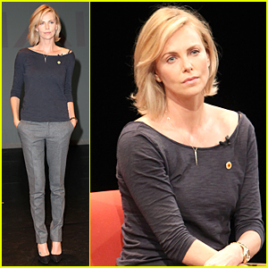 Charlize Theron Wants to Empower Adolescents to Help End AIDS