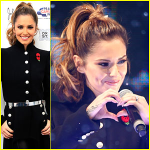 Cheryl Cole Feels Like a Kid Lighting Up Christmas Lights