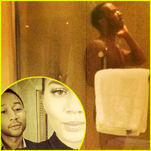 Chrissy Teigen Shares Pic of John Legend Naked in the Shower!