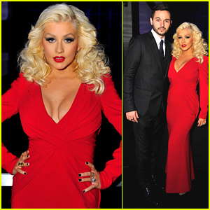 Christina Aguilera Makes First Red Carpet Appearance Since Giving Birth to Baby Girl Summer!