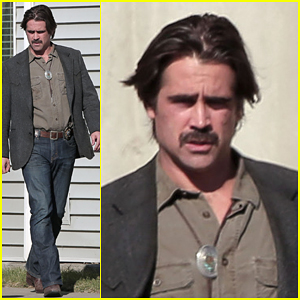Colin Farrell on Set of 'True Detective' Will Get You Pumped Up for the Second Season