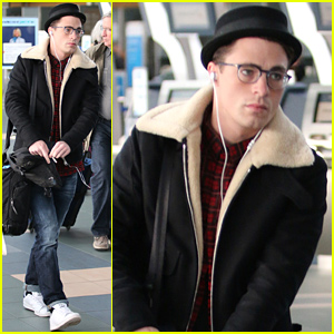 Colton Haynes In Eyeglasses Is A Look We're Totally Behind!