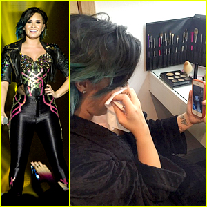 Demi Lovato Tears Up During Thanksgiving Away from Family