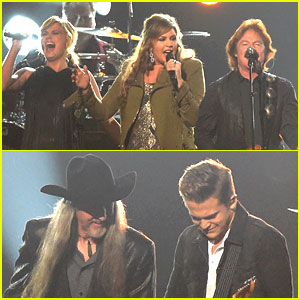 Country Music Stars Join Doobie Brothers for CMA Awards 2014 Performance! (Video)