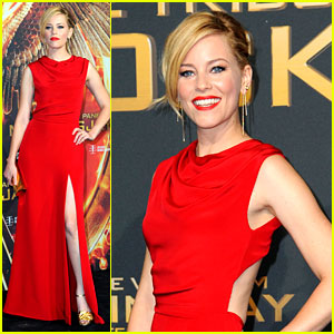 Elizabeth Banks Wears Her Favorite Color to 'Mockingjay' German Premiere!