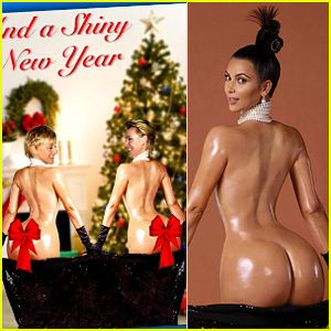 Ellen DeGeneres & Portia de Rossi Spoof Kim Kardashian's 'Paper' Mag Cover for Their Holiday Card!