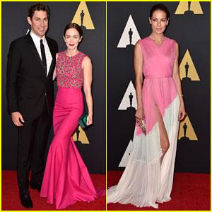 Emily Blunt & John Krasinski Make it a Date Night at Governors Awards 2014
